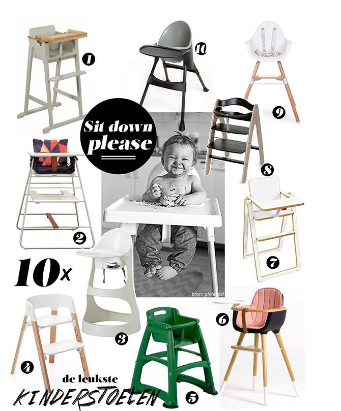 Kinderstoelen shopping