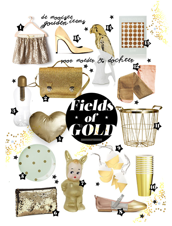 SHOPPING: FIELDS OF GOLD