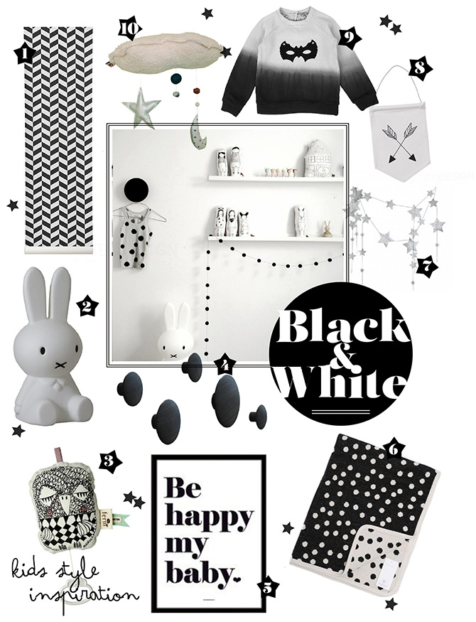 SHOPPING: BLACK AND WHITE