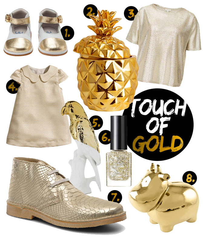 SHOPPING: TOUCH OF GOLD