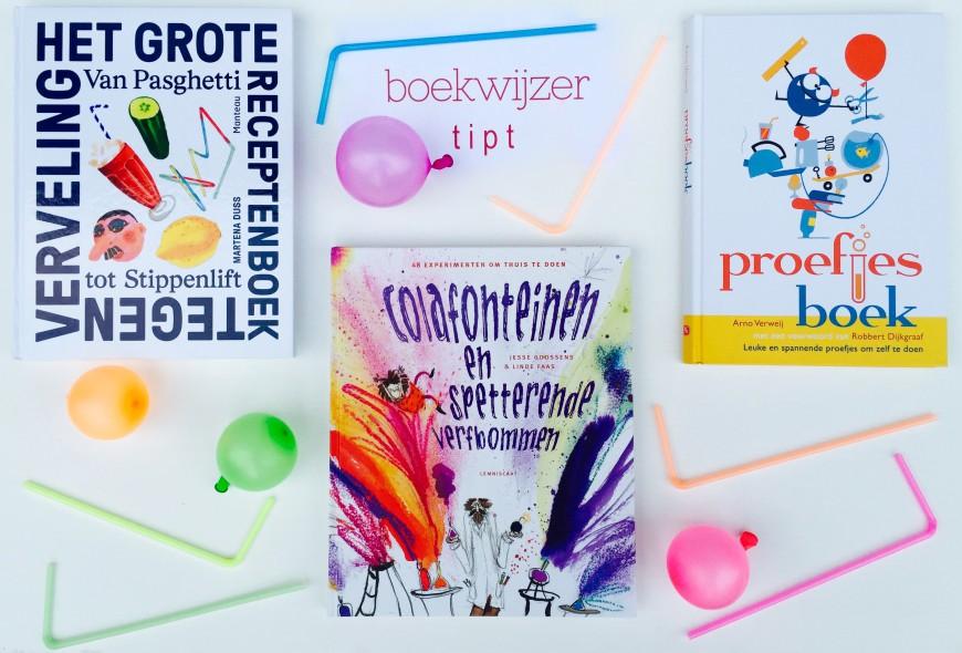 drie proefjesboeken