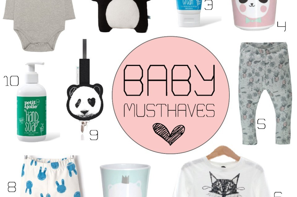 10x BABY MUSTHAVES |