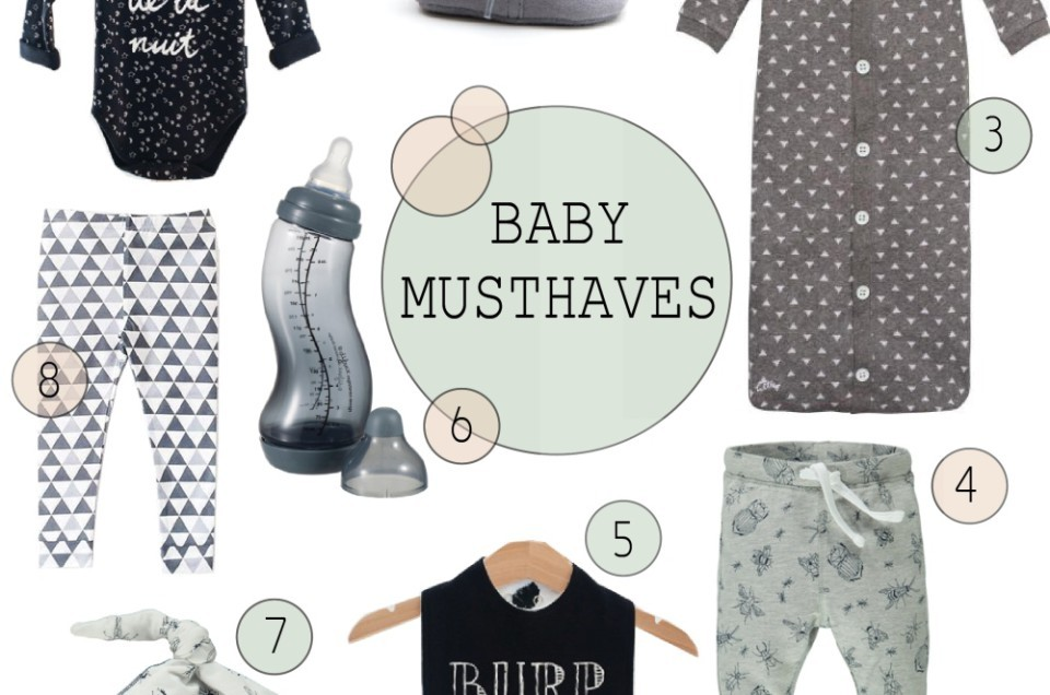 FASHIONABLE BABY MUSTHAVES | GREY & BLACK