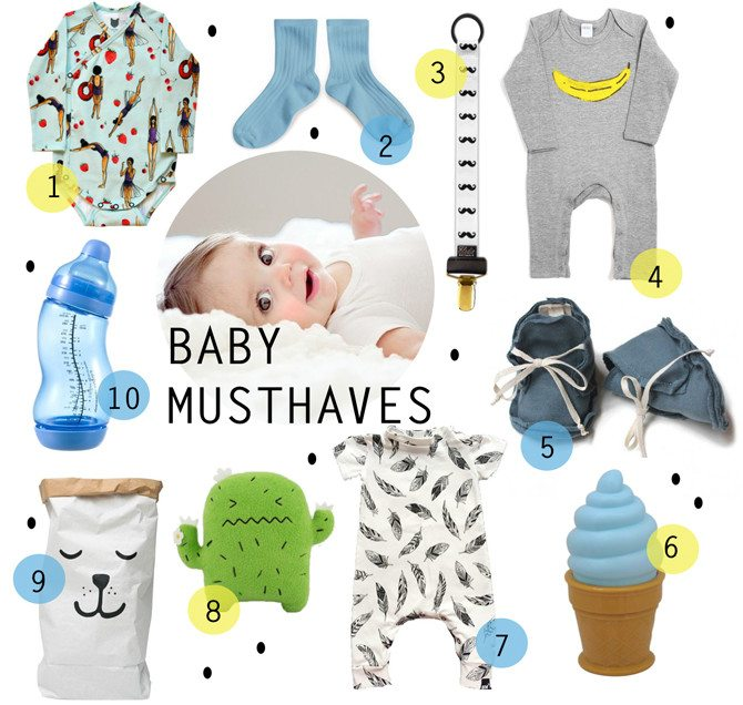 SHOPPING | BABY MUSTHAVES