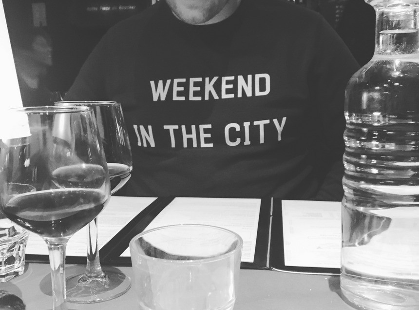 JERR BLOGT: WEEKEND IN THE CITY